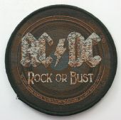 AC/DC - 'Rock or Bust' Woven Patch